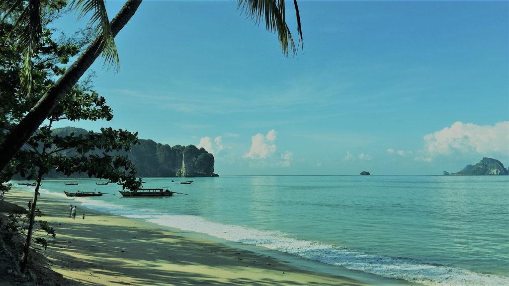 Aonang beach krabi thailand