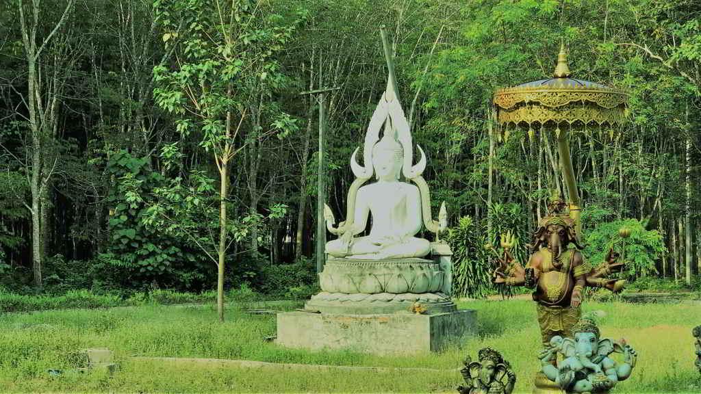 Buddhist Temple Ao Nang Krabi