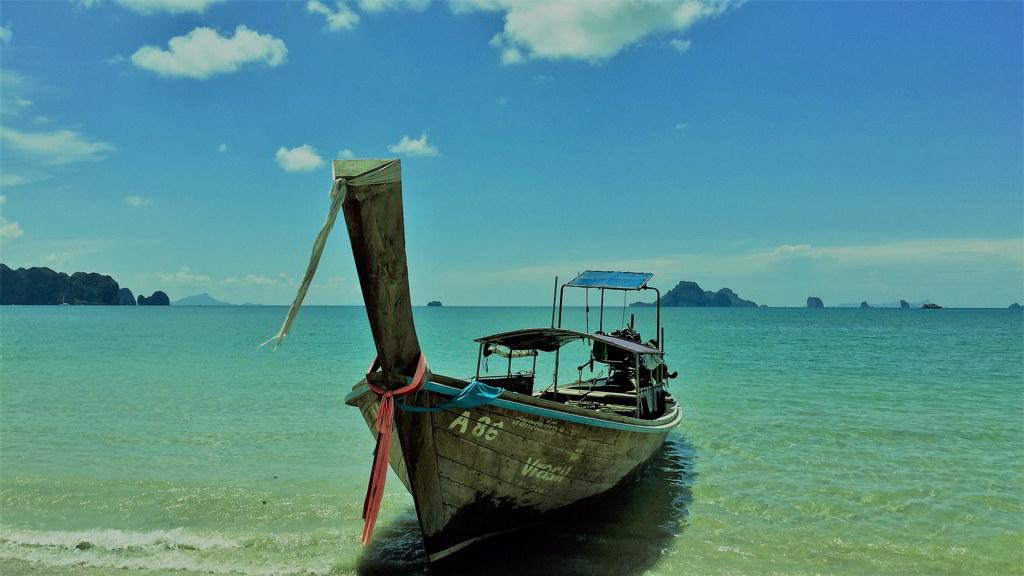 Nopparat tara beach by scooter rental ao nang krabi