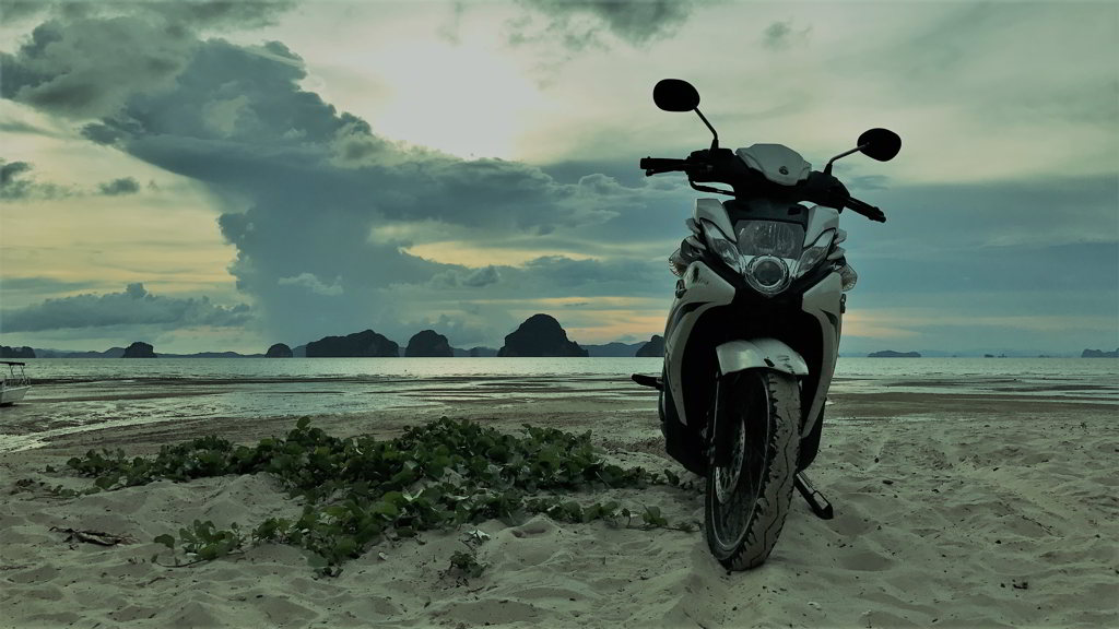 Tub kaek beach krabi thailand