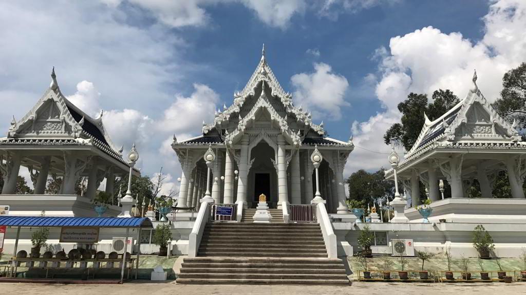 Wat Kaew Korawaram by motorbike rental ao nang krabi thailand