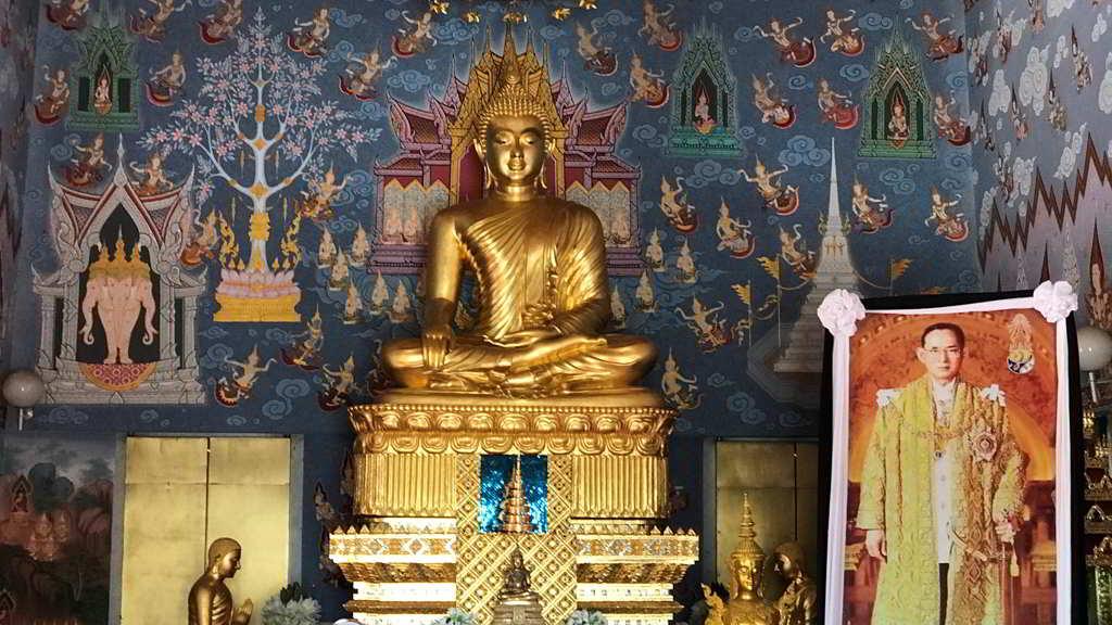 Wat Kaew Korawaram by scooter rent ao nang krabi thailand