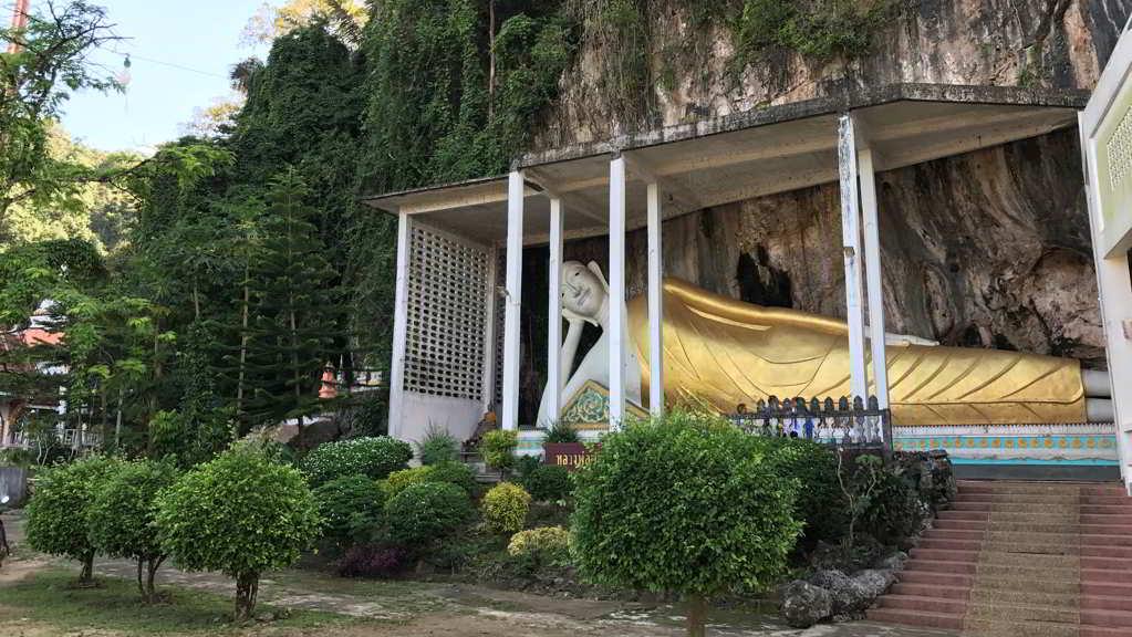 Wat Sai Thai Temple by motorbike rental ao nang krabi thailand