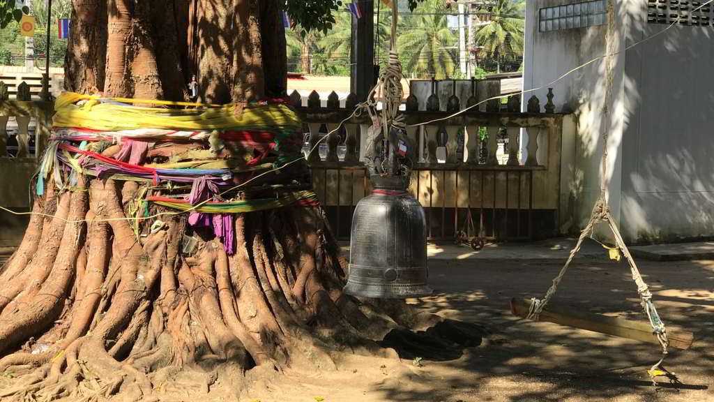 Wat Sai Thai Temple by scooter rental ao nang krabi thailand