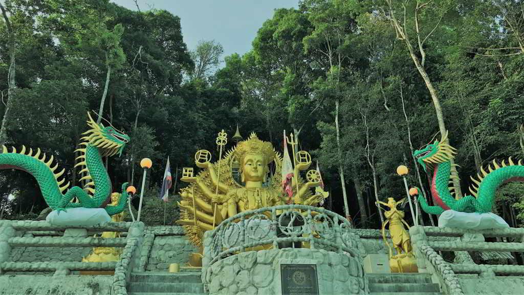 chinese temple ao nang krabi