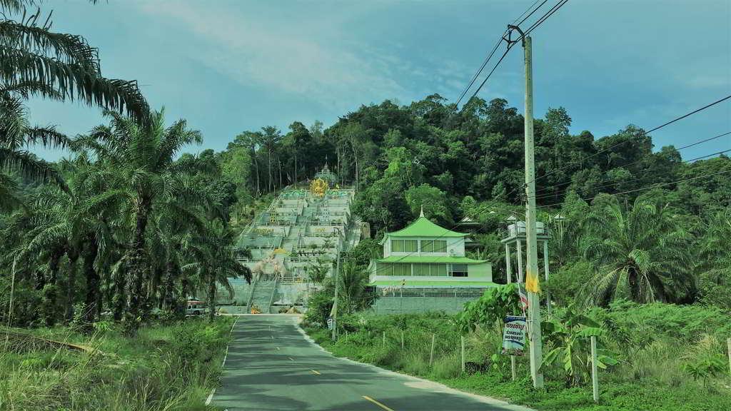 chinese temple ao nang krabi thailand