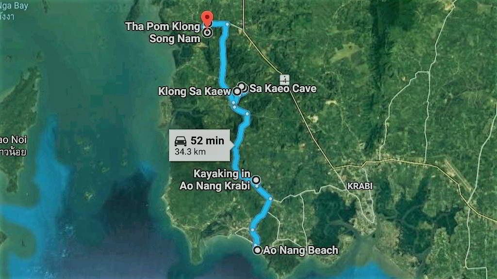 Krabi Routes to explore Krabi by motorbike or car