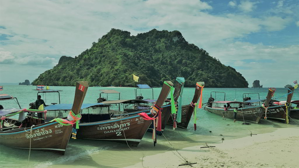 four islands tour krabi thailand