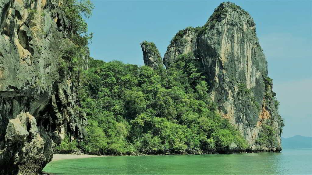 hong island trip from ao nang krabi thailand