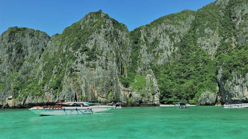 phi phi island form krabi