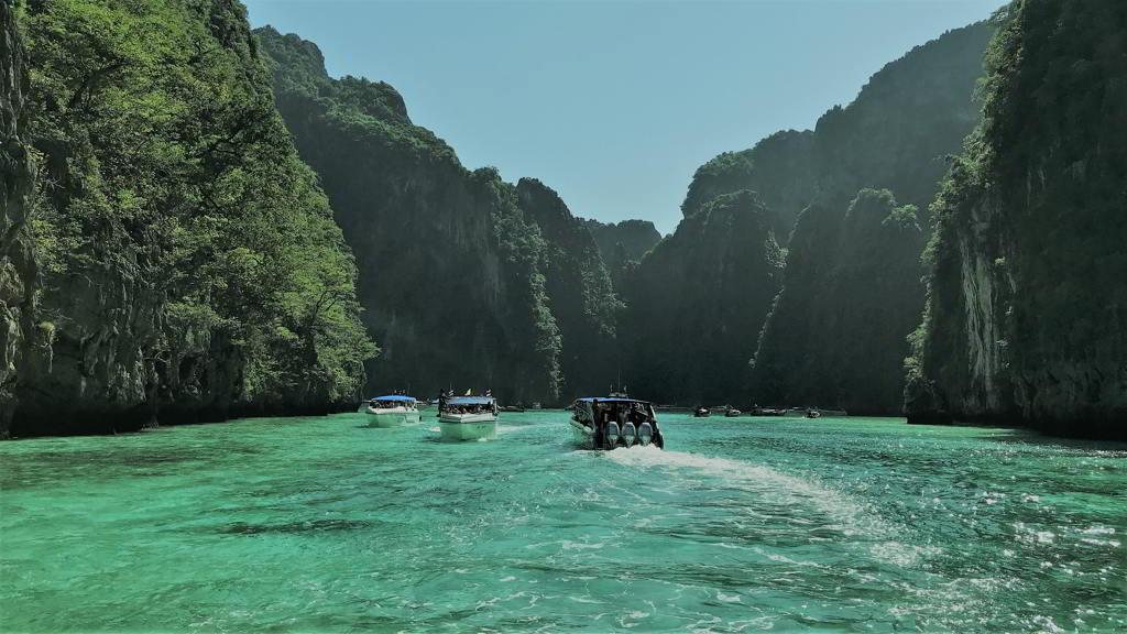 phi phi island from ao nang
