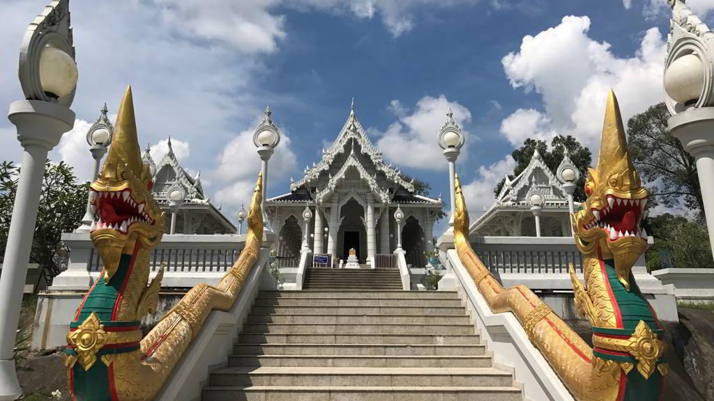 Wat Kaew Korawaram by bike rental ao nang krabi thailand