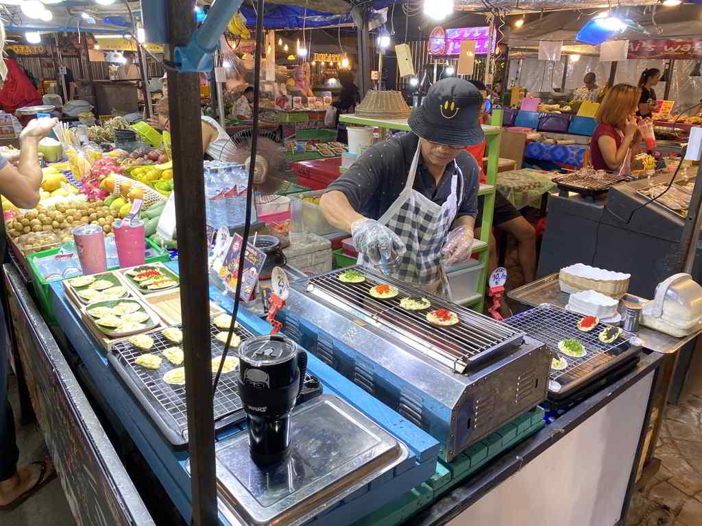 night market in ao nang krabi